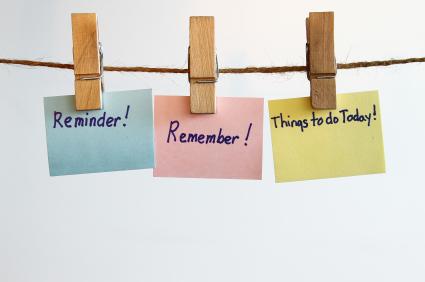 image - reminders