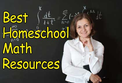 A list of the best homeschooling math resources